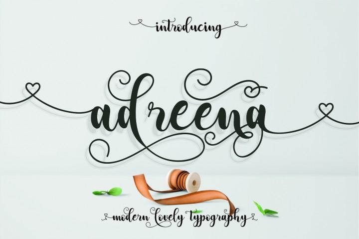Adreena Script