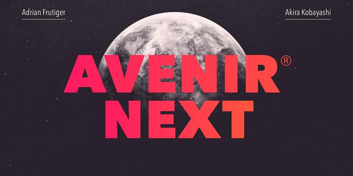 Avenir® Next Pro
