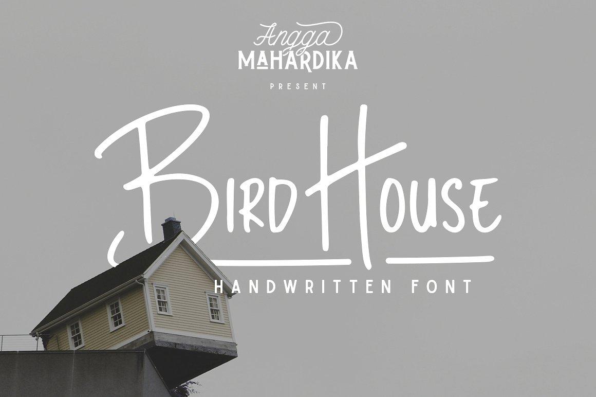 Bird House Handwritten