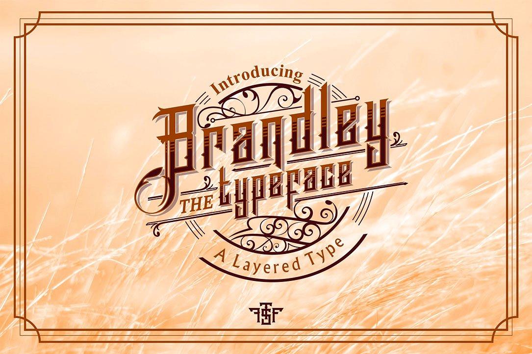 Brandley Typeface