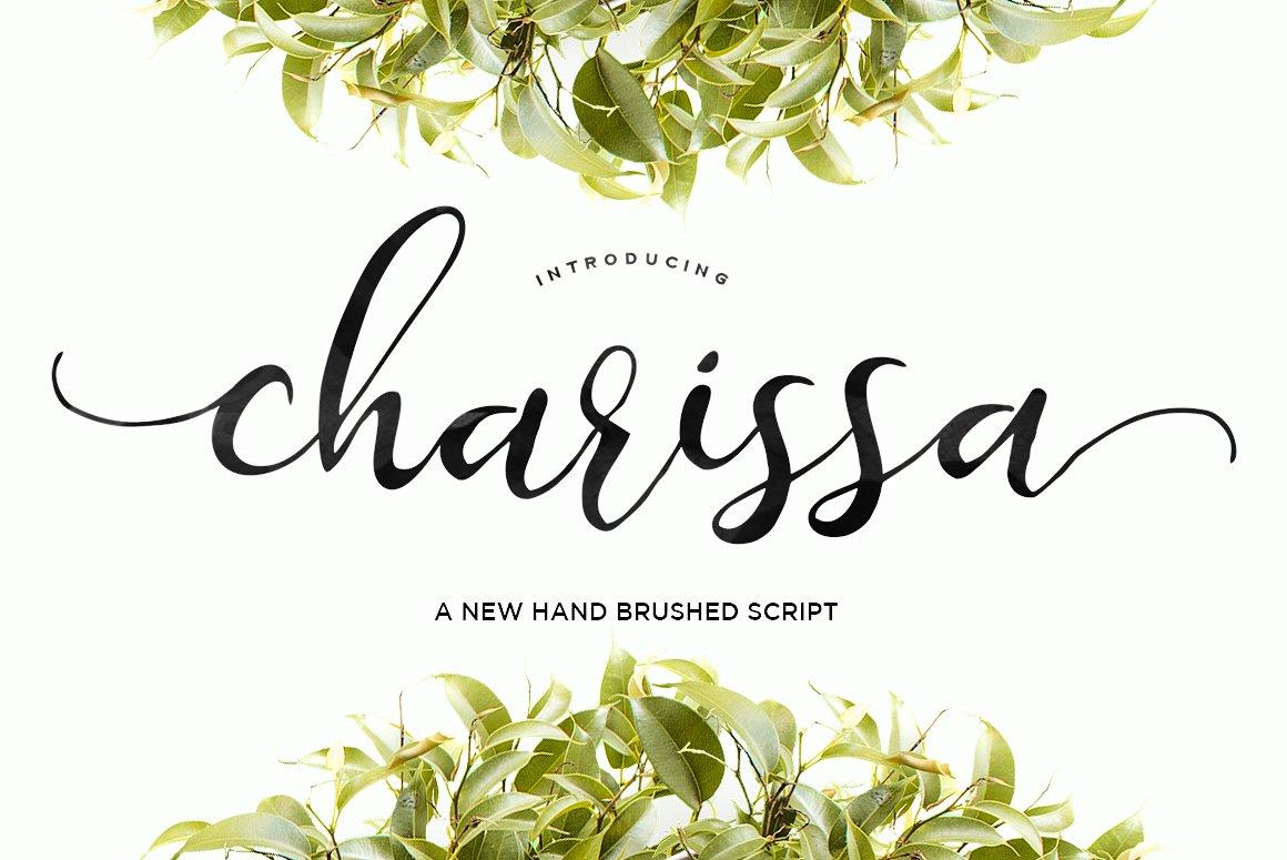 Charissa Script Font - Fontlot.com