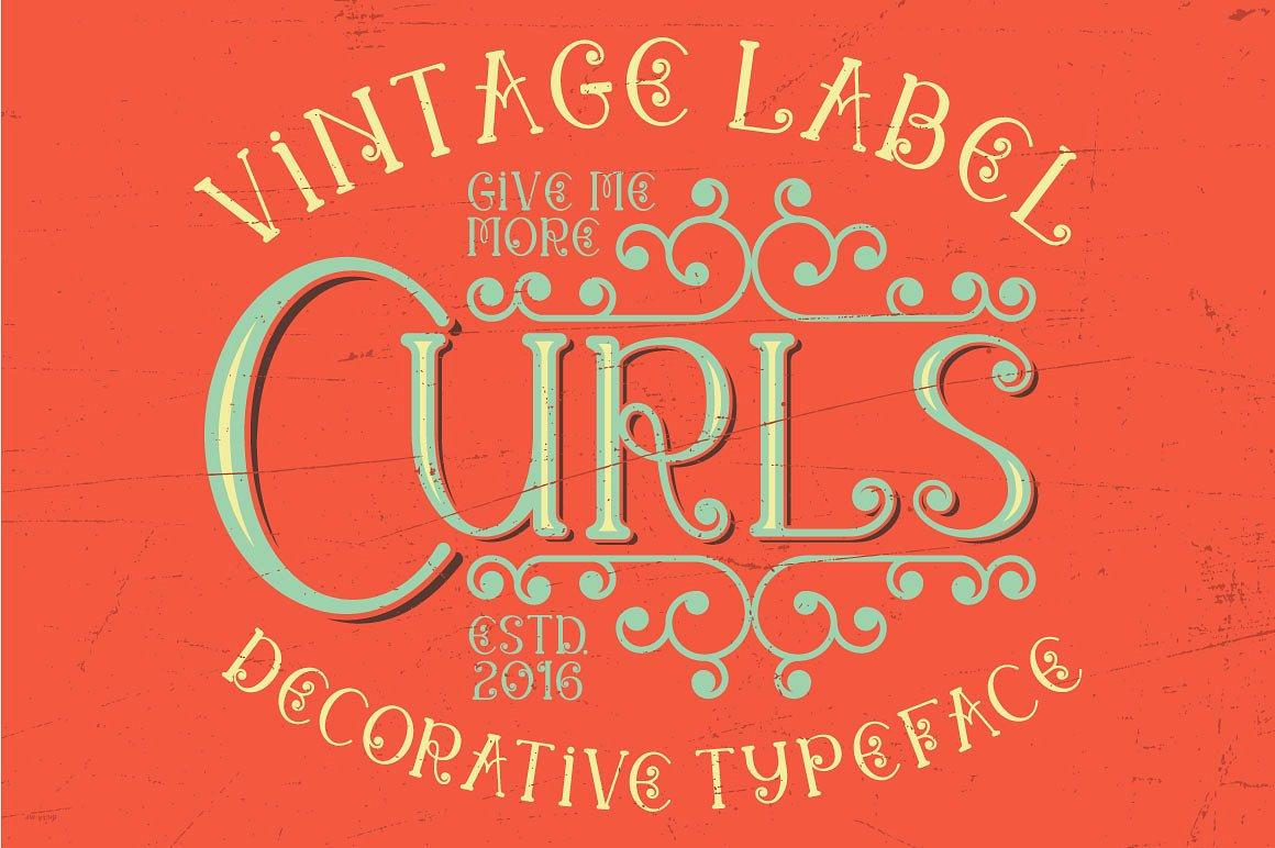 Curls Typeface