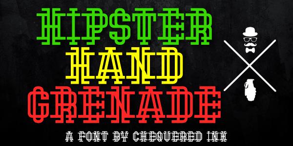 Hipster Hand Grenade
