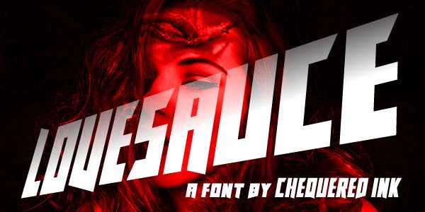 Lovesauce Typeface