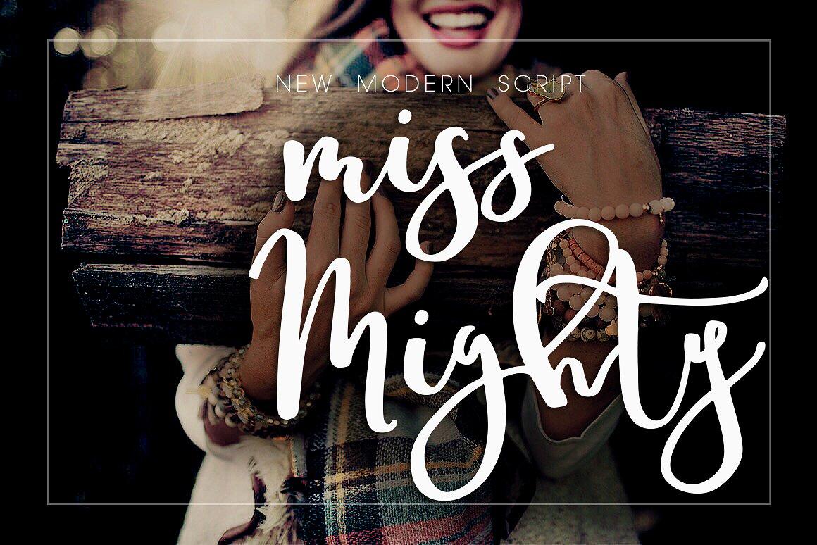 Miss Mighty Script