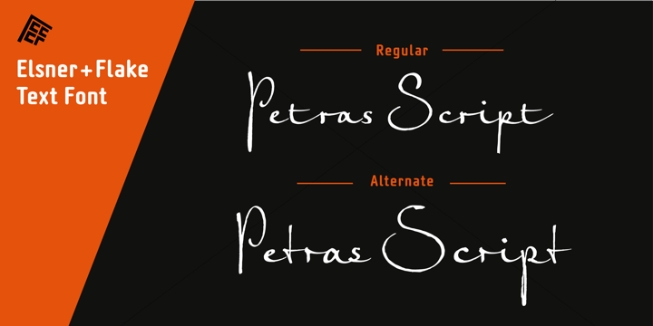 Petras Script EF