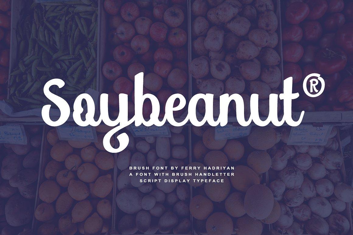 Soybeanut Script