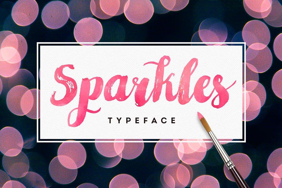 Sparkles Script Font