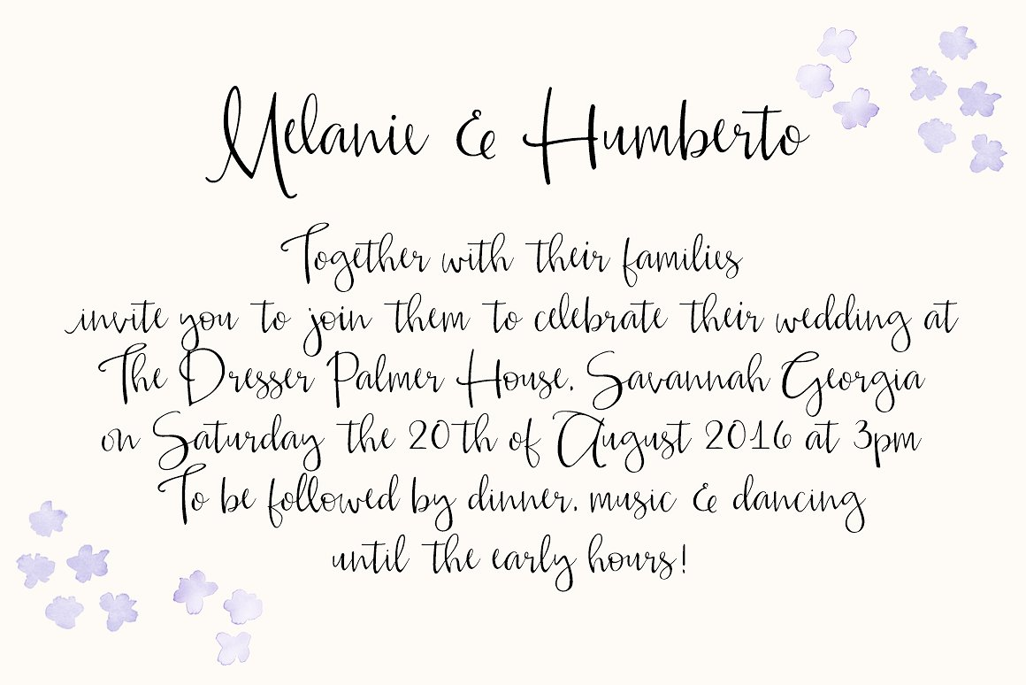 Alouette Calligraphy Font