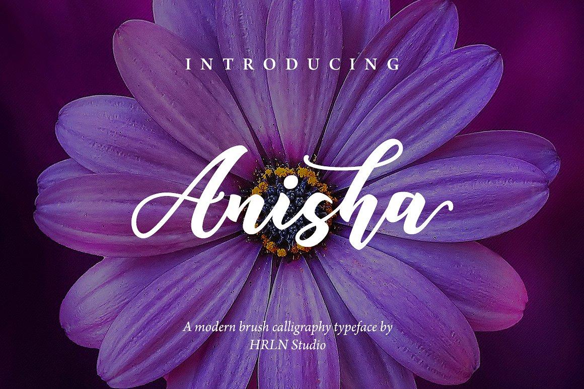 Anisha Script