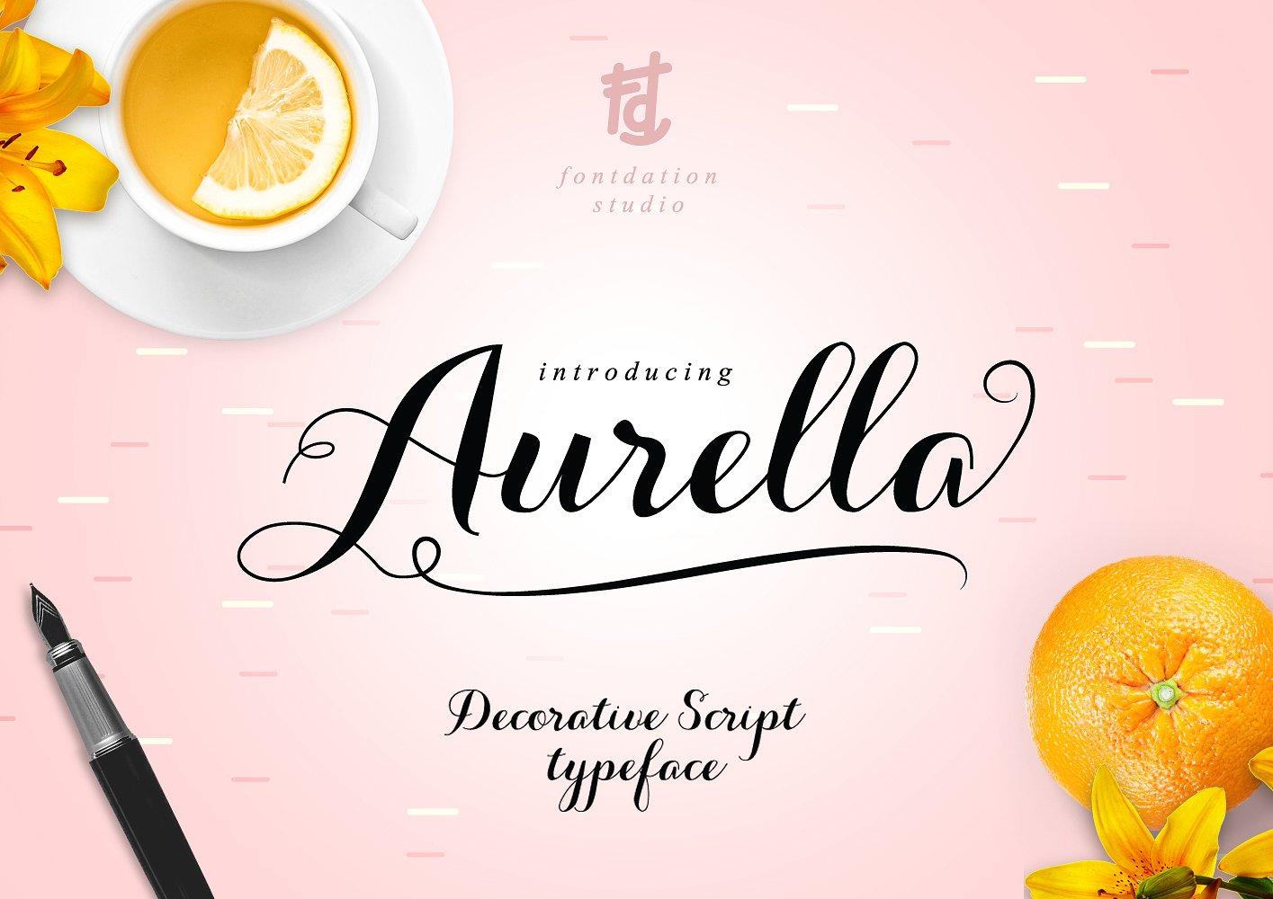 Aurella Script