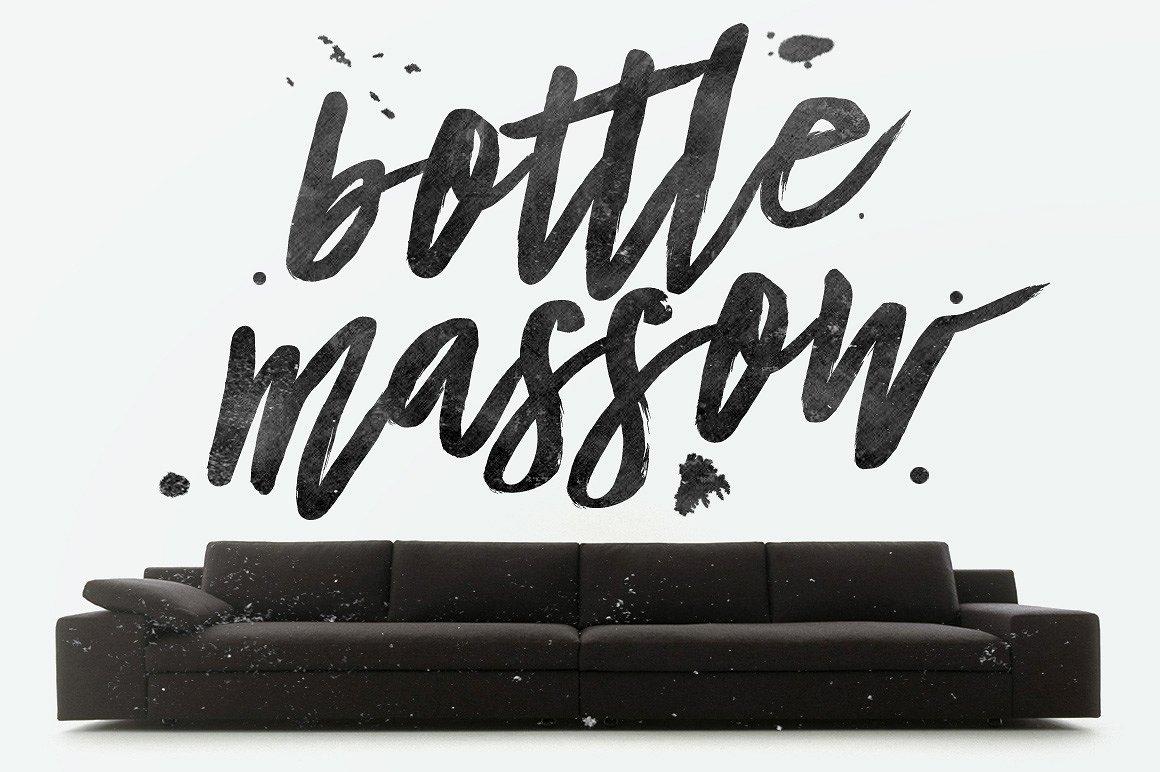 Bottle Massow Brush