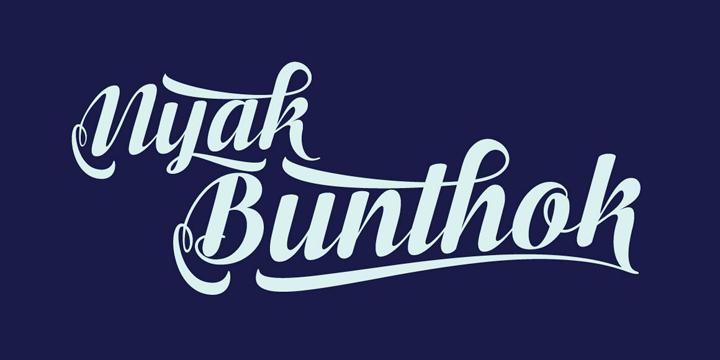 Bunthok Script