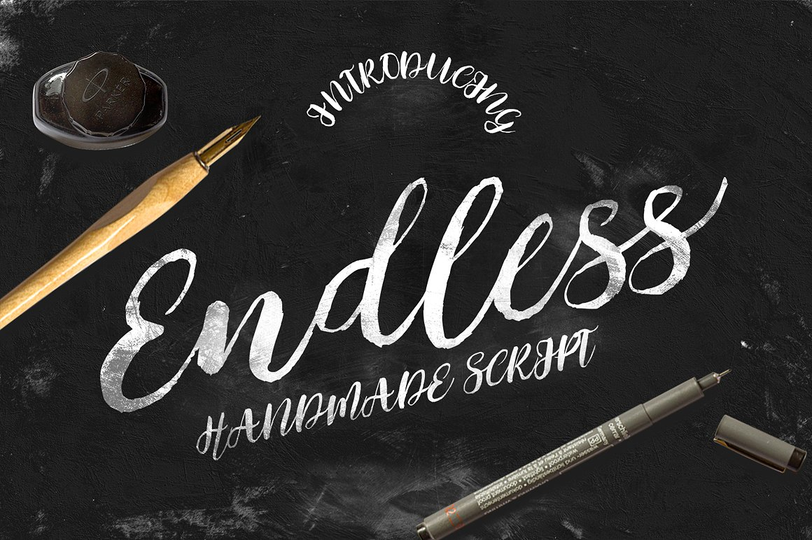 Endless Script Font