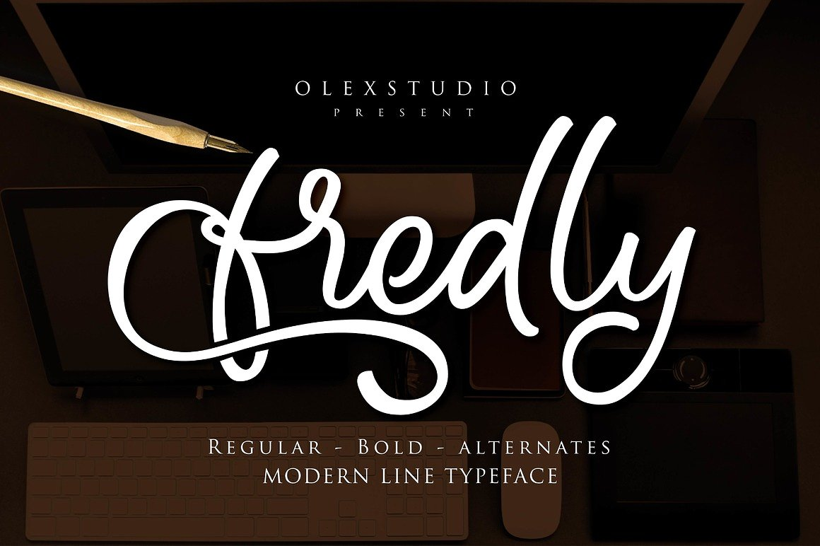 Fredly Script