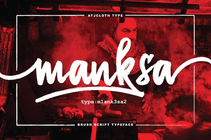 Manksa Typeface