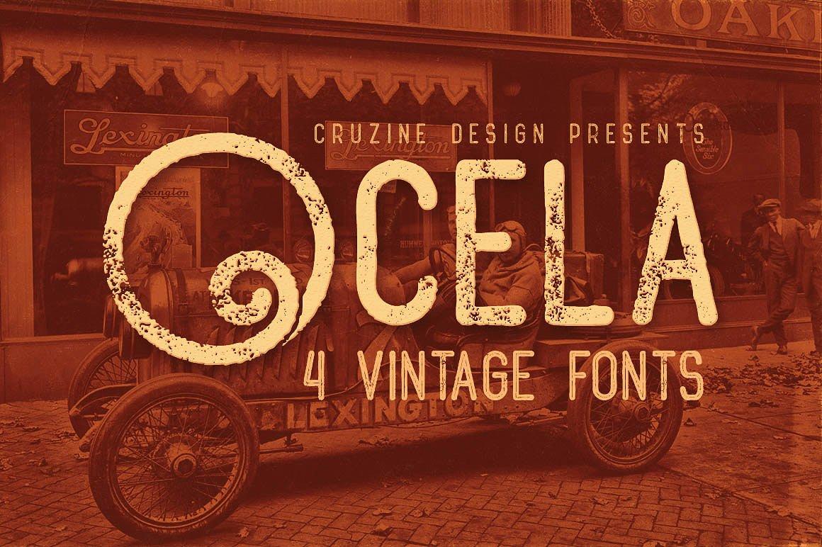 Ocela Typeface