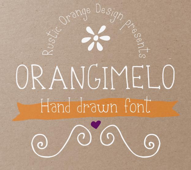Orangimelo Hand Drawn