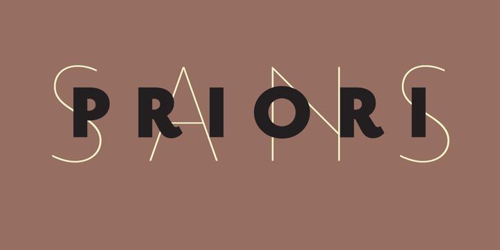 Priori Sans