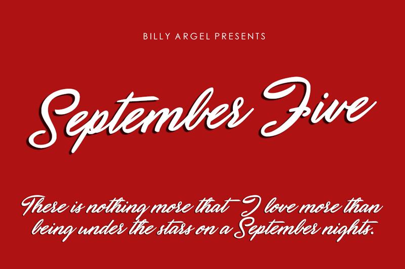 September Five Script