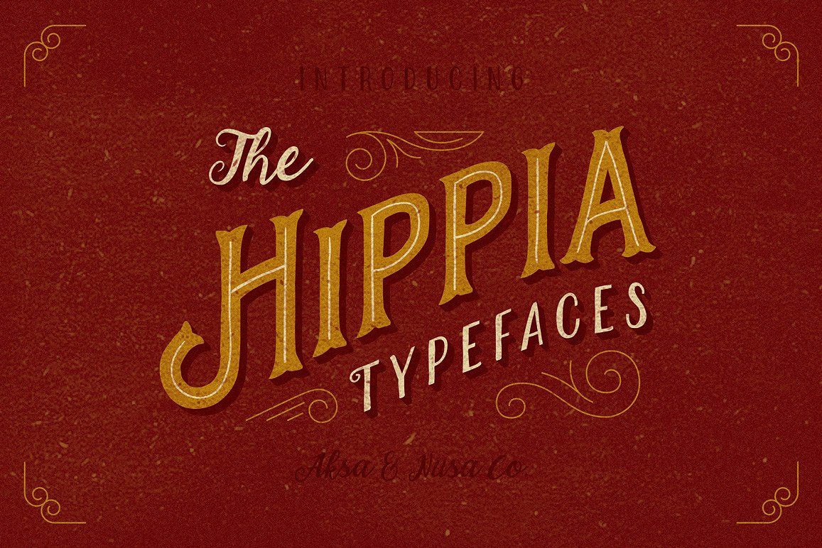 The Hippia Typeface