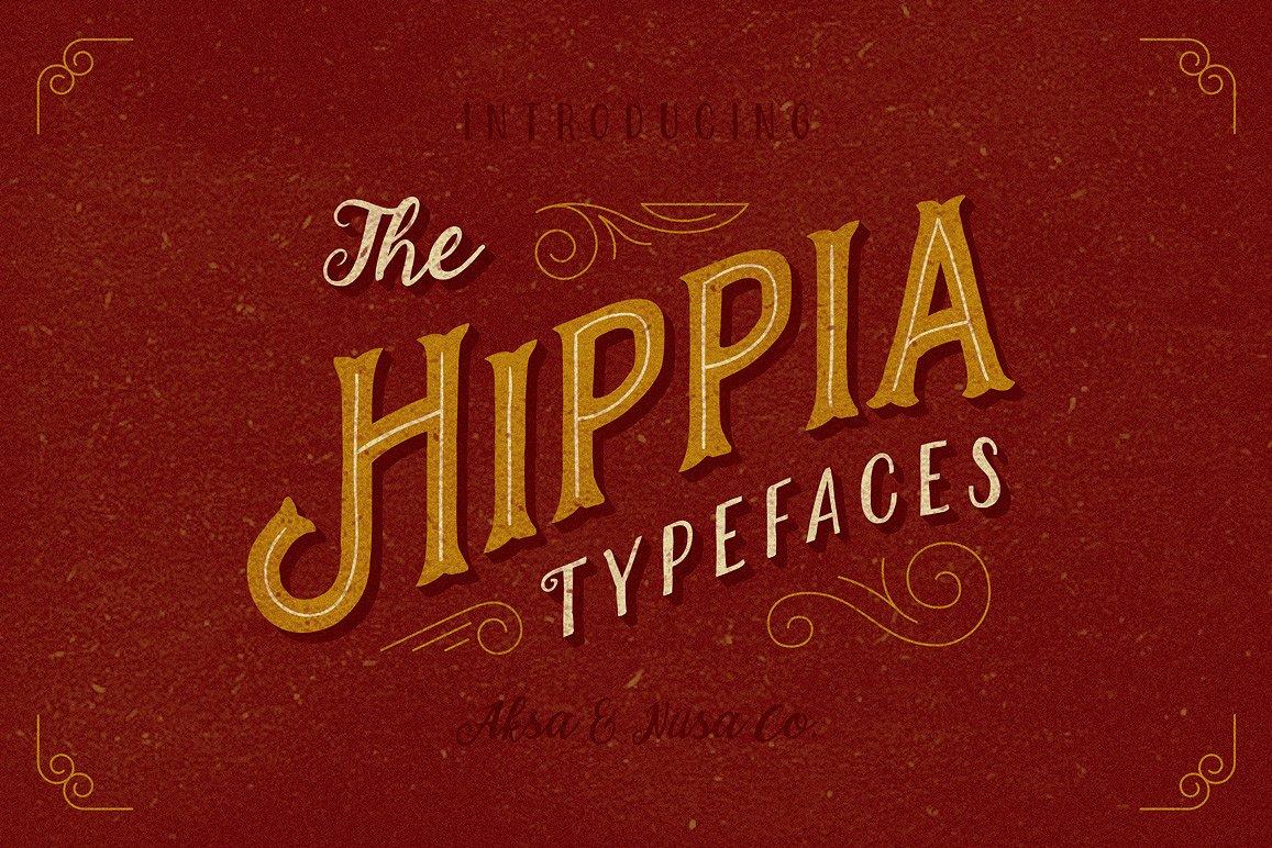 The Hippia Typeface
