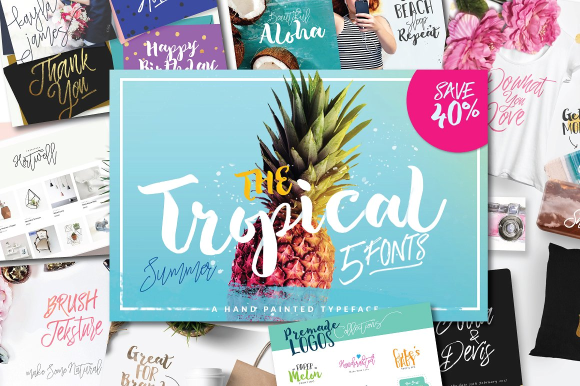 The Tropical Typeface