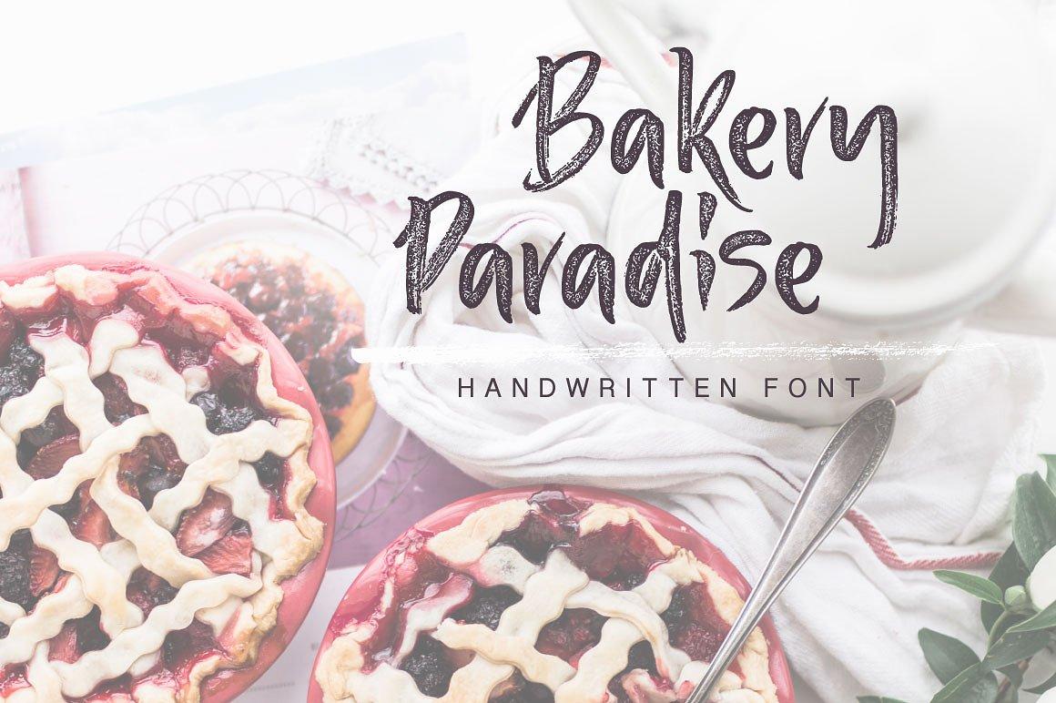 Bakery Paradise Handwritten