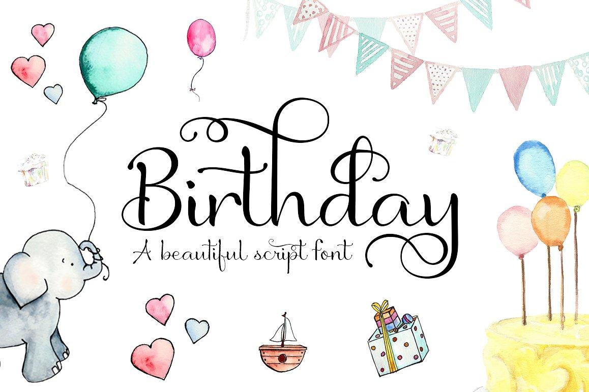 Birthday Script