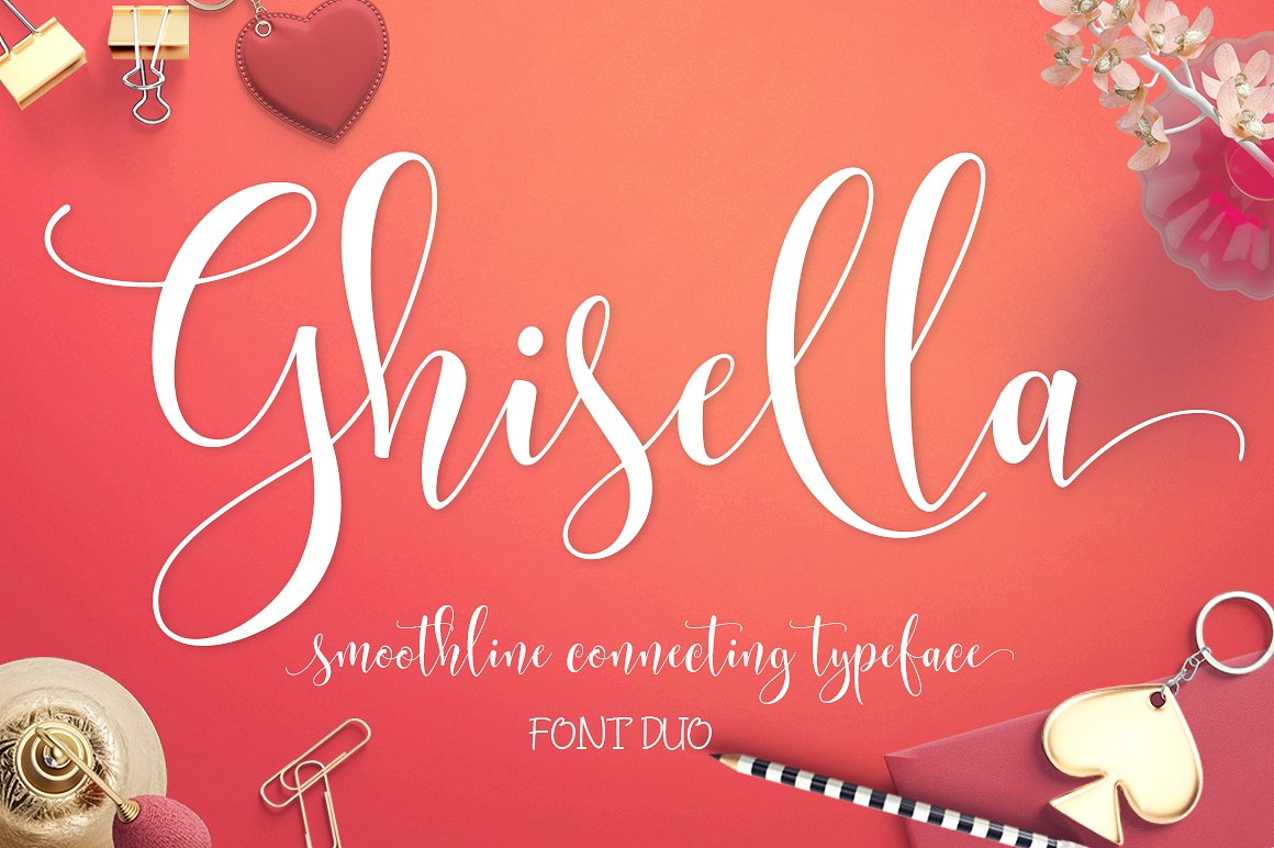 Ghisella Script - Fontlot.com