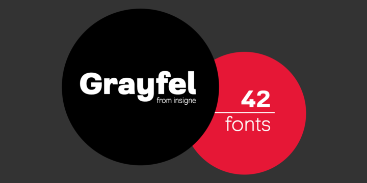 Grayfel Font Family