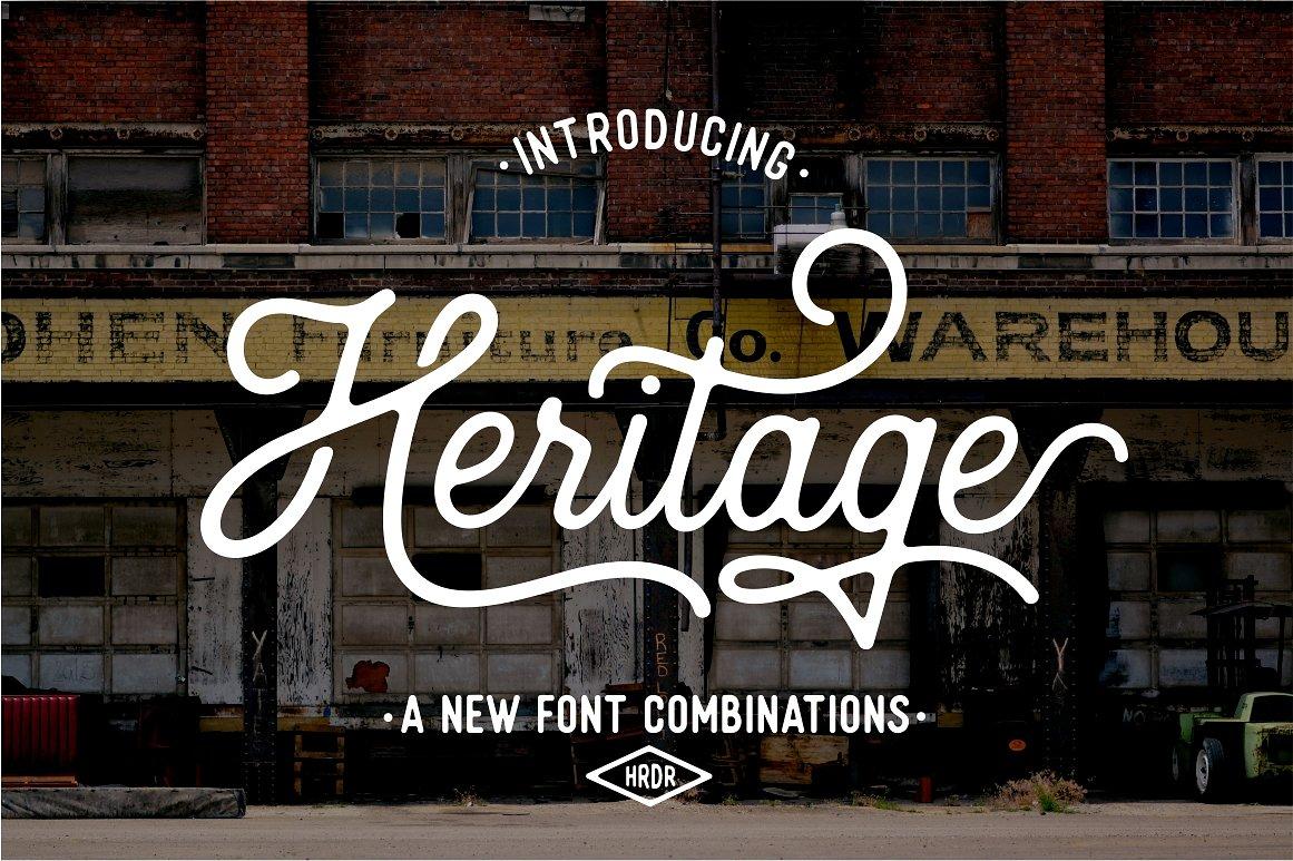Heritage Typeface