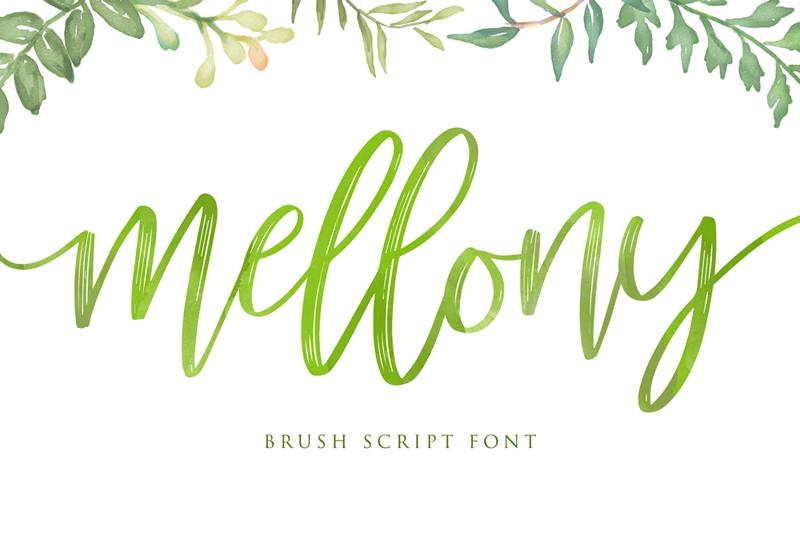 Mellony Script