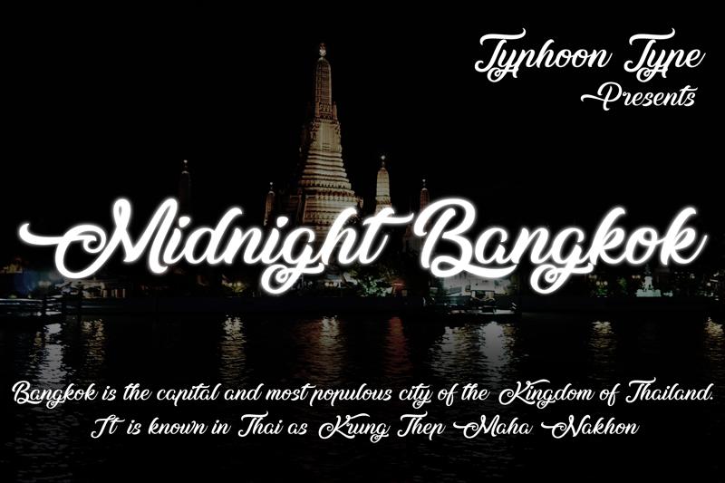 Midnight Bangkok