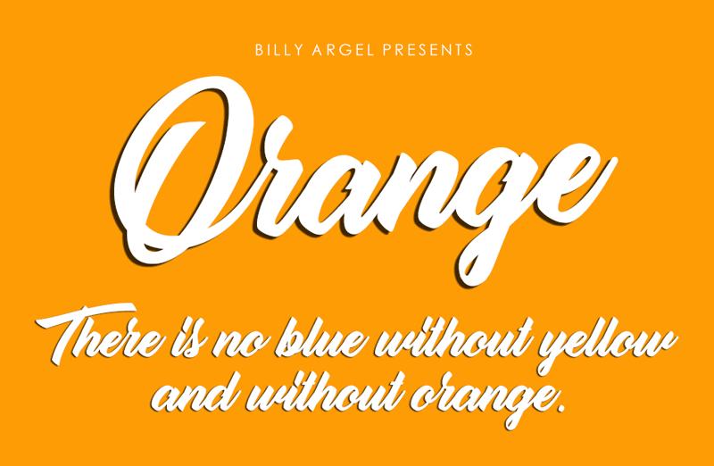 Orange Script