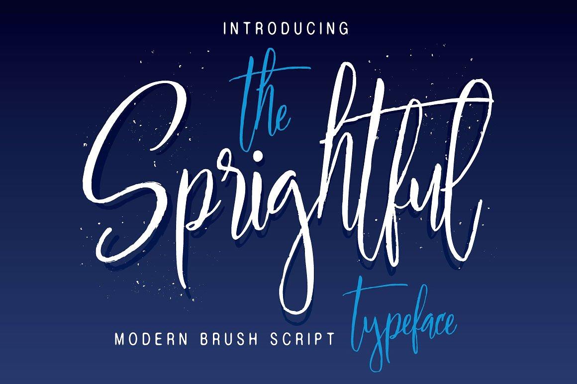Sprightful  Script