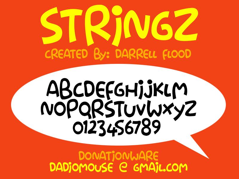 Stringz Typeface
