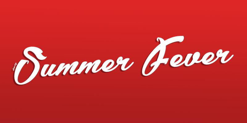 Summer Fever Font