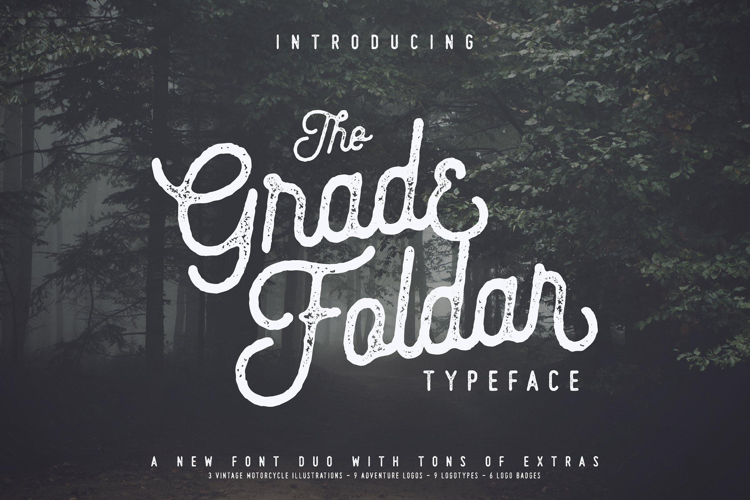 The Gradefoldar Typeface