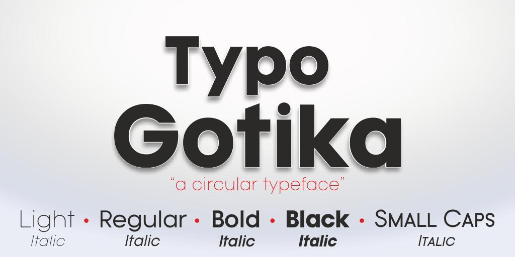 Typo Gotika