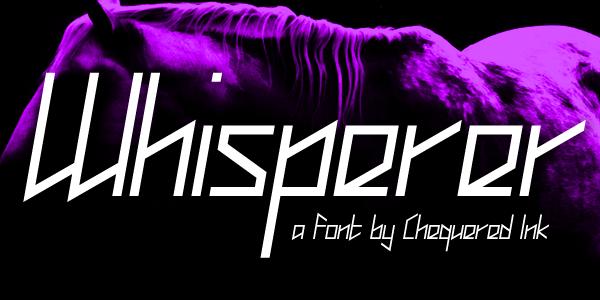 Whisperer Typeface