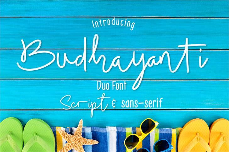 Budhayanti Script