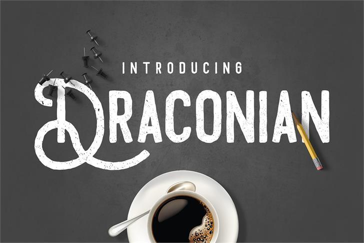 Draconian Typeface