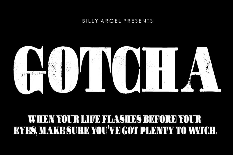 Gotcha Typeface