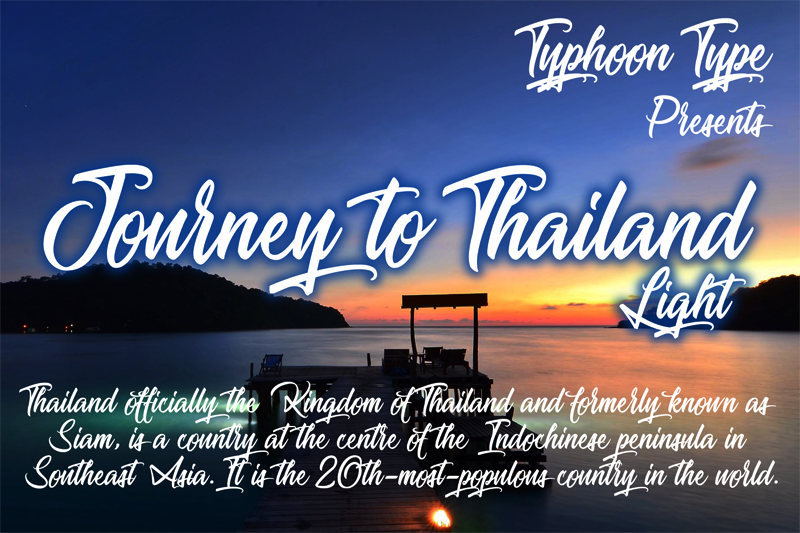Journey to Thailand