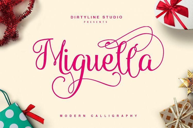 Miguella Script