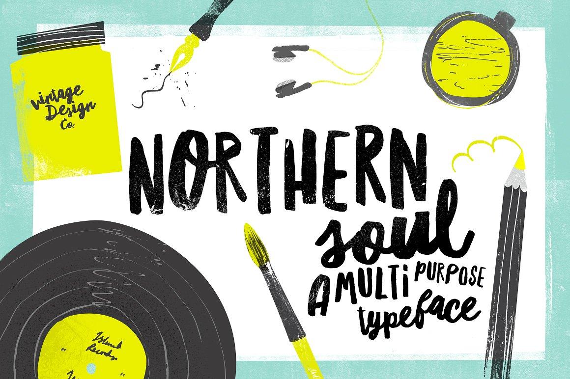 Northern Soul Brush