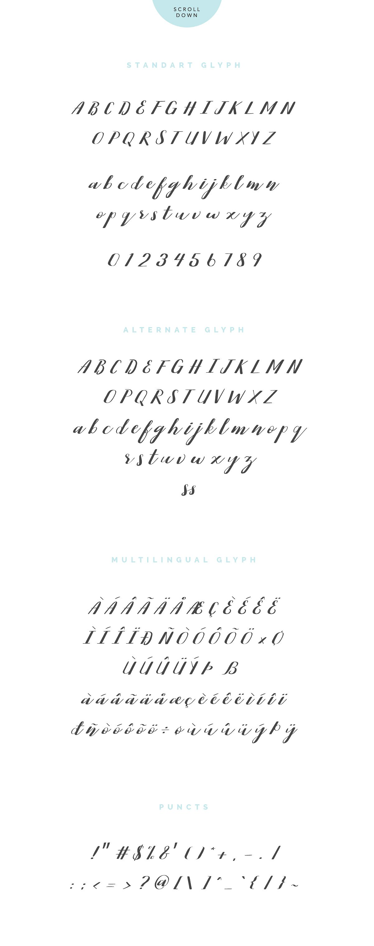 Perston Script