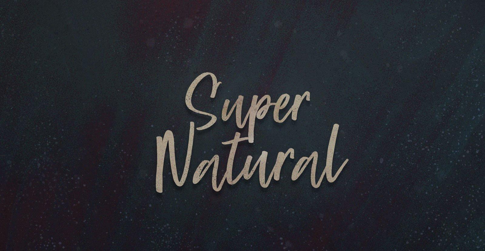 Super Natural Script