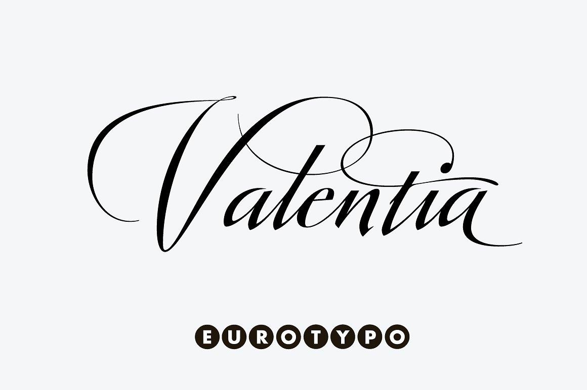Valentia Script